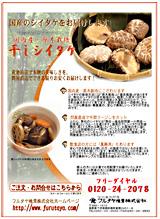 フルタヤ椎茸ネットチラシ